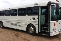 Our Air Conditioned Bus - with Movies!