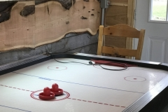 Cafe Air Hockey